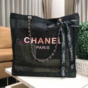 Brand new Rose Gold Mesh Chain Tote Bag
